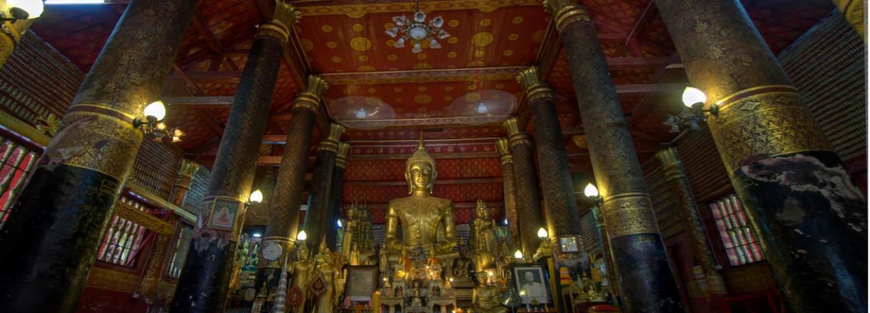 Northern Laos Temple in Luang Prabang