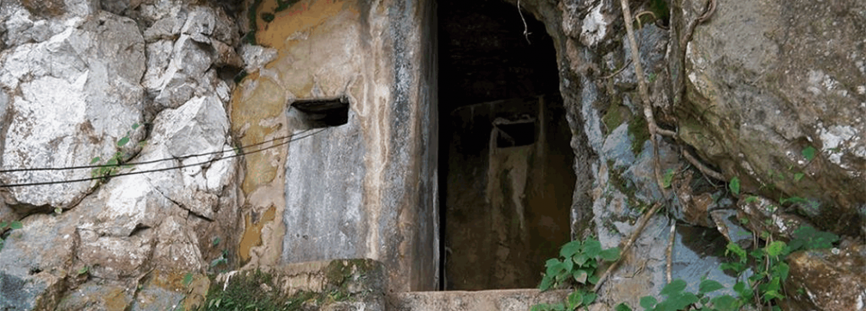 Historical Caves in Laos during the fight for freedom