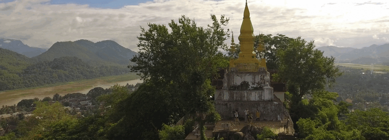 Buddhist Temples, Shrines,, Laos, Tourism, Culture, heritage