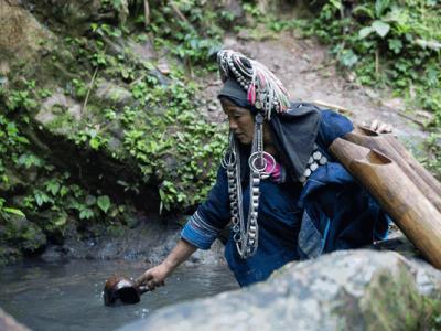 Ethnic diversity hill tribes Akha