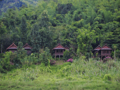 Oudomxay offers Top quality Accommodation, that includes Pakbeng hotels guesthouses resorts camping Mekong Cruises