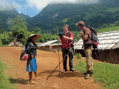 Luang Namtha on foot and meeting locals