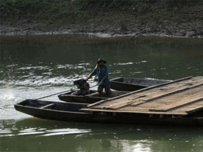 Tours of Attapeu on foot, two wheels,4 wheels and on the river in Laos