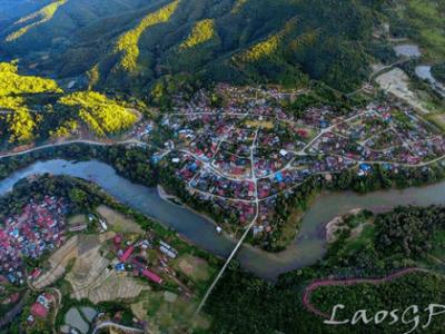 flying to Luang Namtha Laos