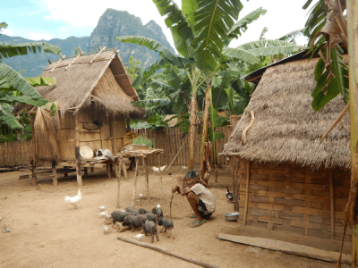 Overnight home stays and village visits in Luang Namtha