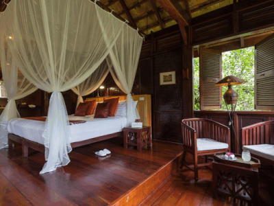 5 star to 3 and 2 star accommodation can be found in Luang prabang