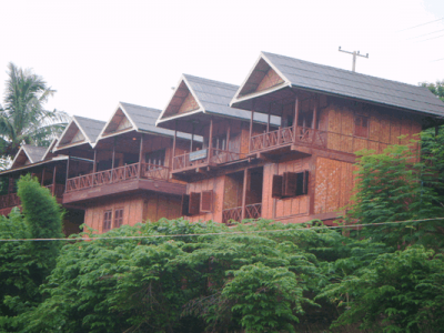 Accommodation in Sayabouly Town is abundant to choose from