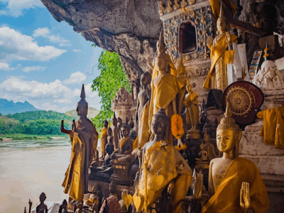 Temples, caves, zip lines, river boats and adventure so much to see and do