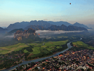 Vang Vieng a paradise of Tours and excursion, tubing capital of the world, caves are abundant
